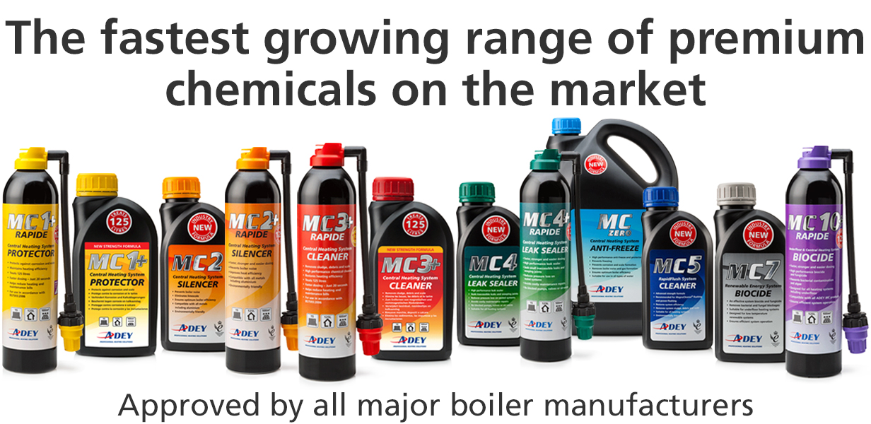 ADEY Chemicals range
