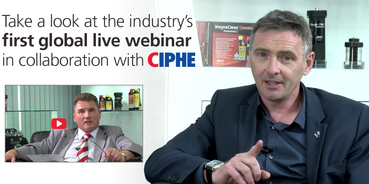 Take a look at the industry's first global live webinar in collaboration with CIPHE
