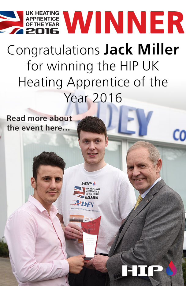 UK Heating Apprentice of the Year 2016